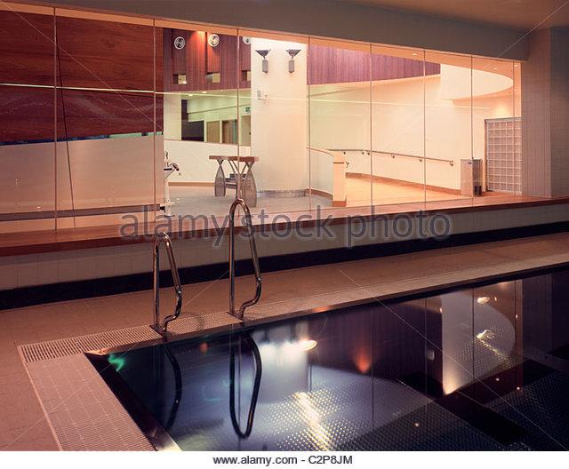 Indoor swimming pool public stock photos indoor swimming - Star city swimming pool ...