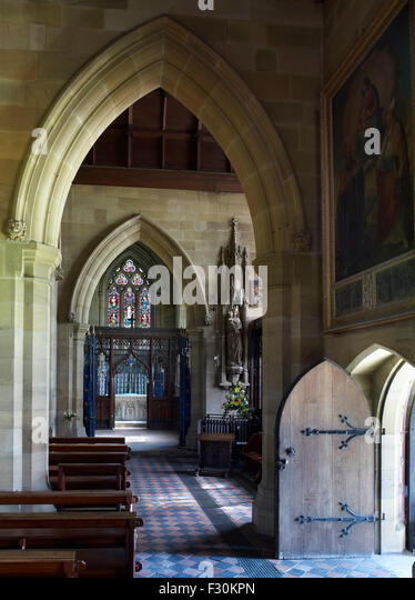 Gothic revival stock photos gothic revival stock images for Gothic revival interior