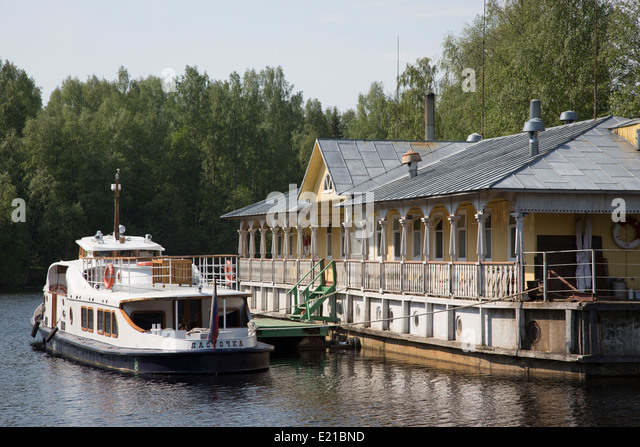 Russia, Mandrogi Village - Stock Image