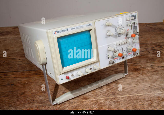 Topward 7025 two channel 20MHz oscilloscope - Stock Image