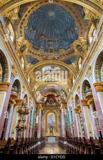 Austria, Vienna, Jesuitenkirche - Stock Image