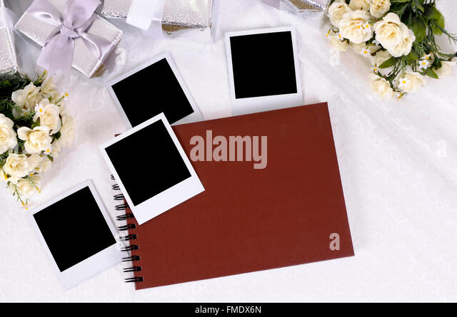 gifts laid notebook