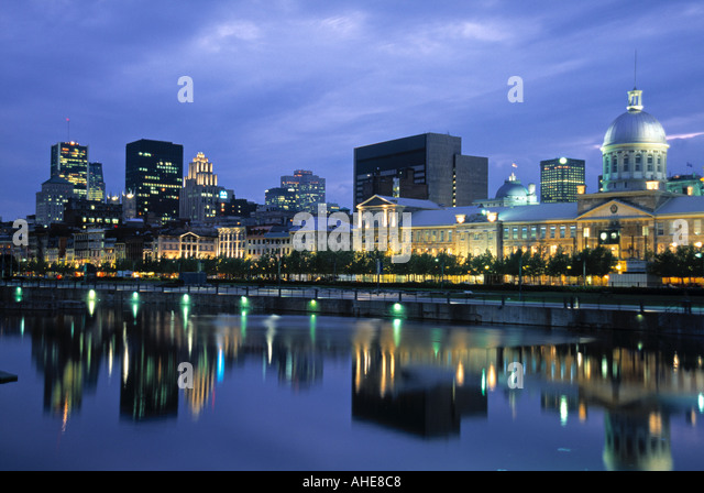 Port Vieux, Montreal, Quebec, Canada - Stock Image