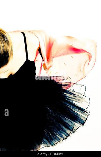 A ballet dancer no.6 - Stock-Bilder