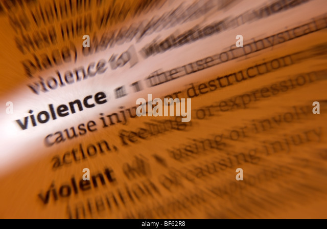 Concept - Violence - Stock Image