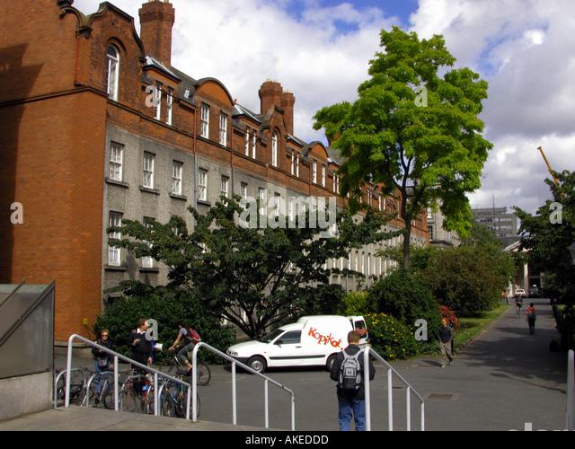Trinity College Dublin, Republic of Ireland, Europe - Stock Image
