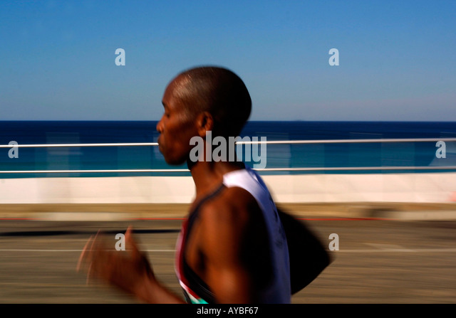 Speed and motion athelete - Stock Image