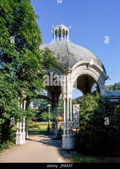 The Park Spring, Karlove Vary - Stock-Bilder