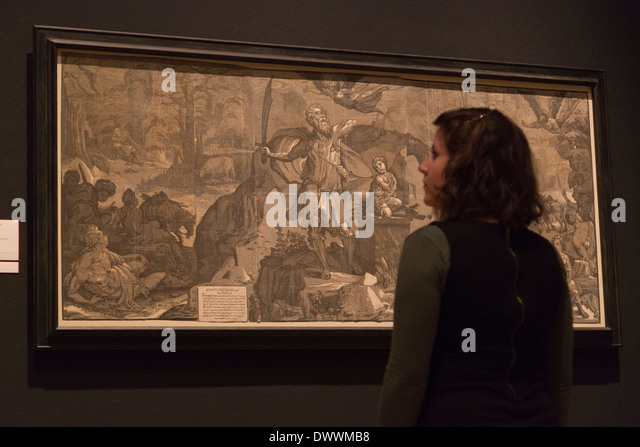 Renaissance Impressions review – poetic chiaroscuro woodcuts