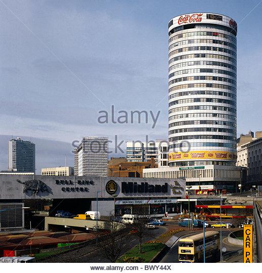 Light Warehouse Birmingham: Bullring Traffic Stock Photos & Bullring Traffic Stock