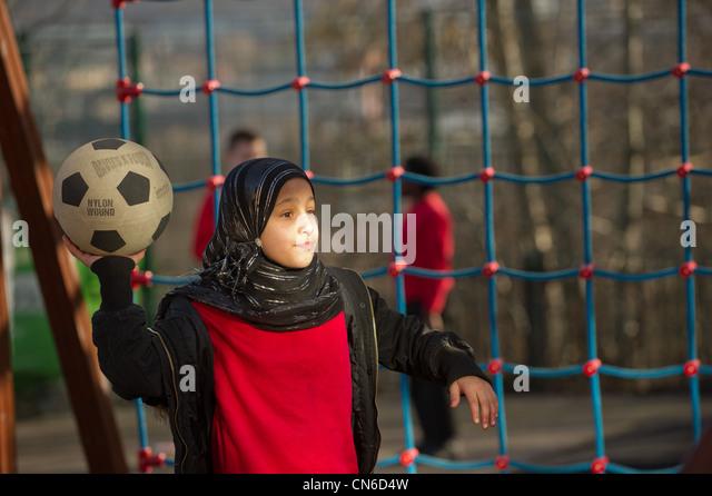 Children in the playground - Stock-Bilder
