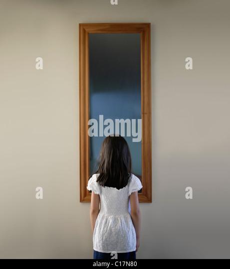 Mirror mirror, on the wall - Stock-Bilder