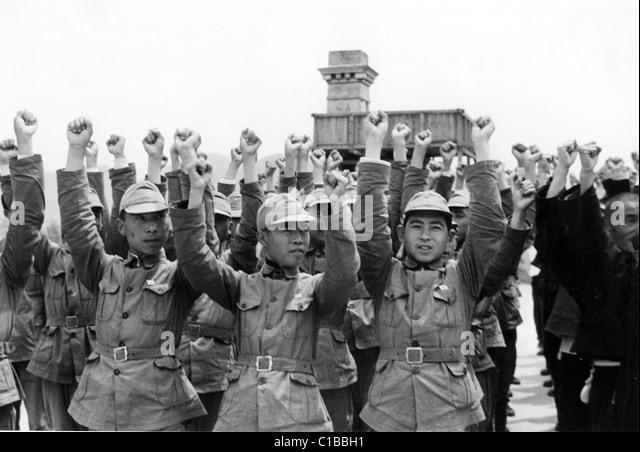 SINO-JAPANESE WAR - Stock Image