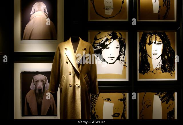 Berlin Germany Exhibition On Potsdamer Stock Photos ...