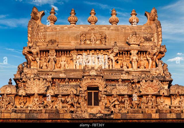Periyanayaki Amman Temple, Darasuram - Stock Image