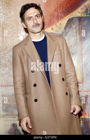 MILAN, ITALY, JANUARY 21: Actor Filippo Timi attends the photo-call of  'Casa di Bambola' on January 21, - Stock Image
