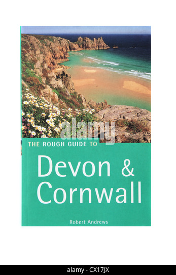 The Rough Guide to Devon and Cornwall a travel guide. - Stock-Bilder