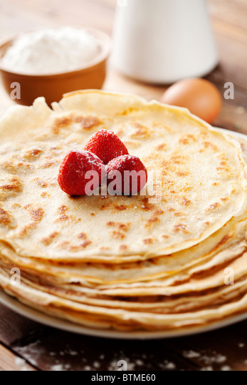 crepes - Stock Image