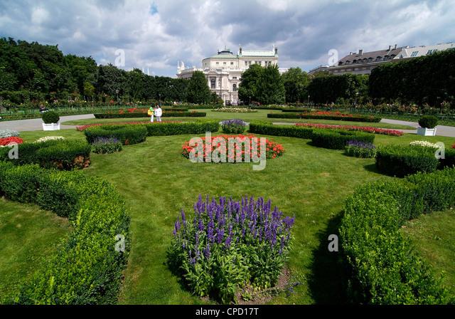 Volksgarten, Vienna, Austria, Europe - Stock Image