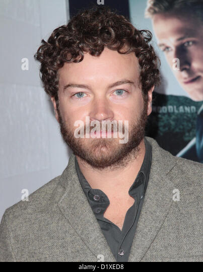 DANNY MASTERSON LOS ANGELES WORLD PREMIERE OF GANGSTER SQUAD LOS ANGELES CALIFORNIA USA 07 January 2013 - Stock Image