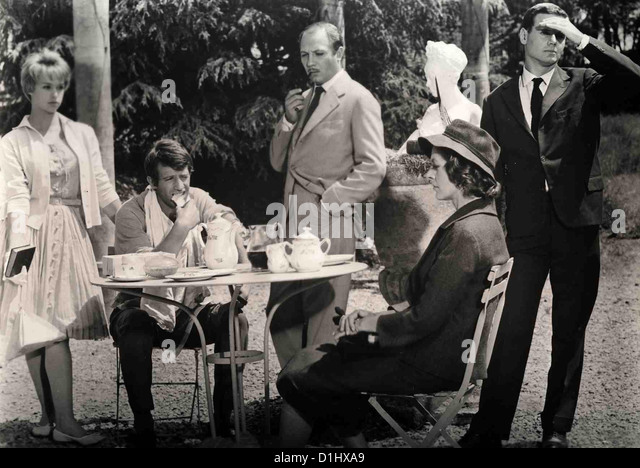 Schritte Ohne Spur  Double Tour  Jeanne Valerie, Jean-Paul Belmondo, Jacques Dacqmine, Madeleine Robinson, ? *** - Stock Image
