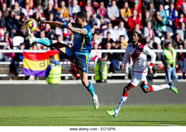 SPAIN, Madrid: Sevilla FC´s Spanish midfielder player Victor Martin Vitolo during the Spanish League 2014/15 - Stock Image