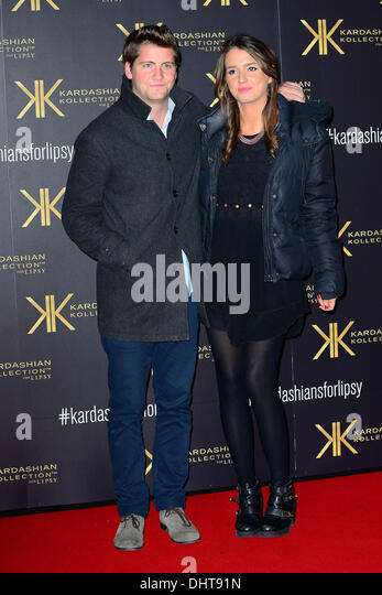 London UK 14th Nov 2013 :  Lucy Watson attends the launch party for the Kardashian Kollection for Lipsy at Natural - Stock Image