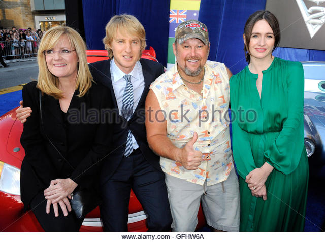 Larry the cable guy and owen wilson