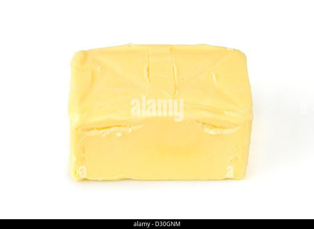 Fresh butter - Stock Image