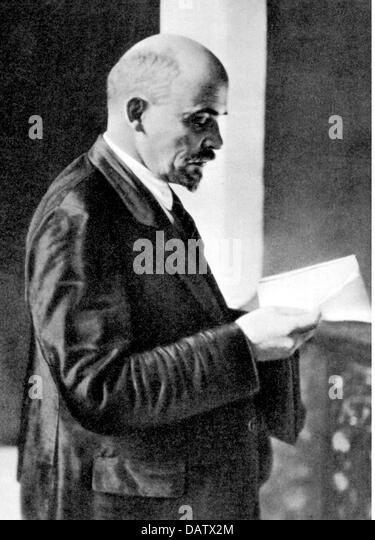 A biography of vladimir ilyich lenin a russian politician