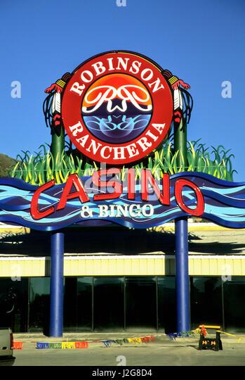 Robinson rancheria casino bingo