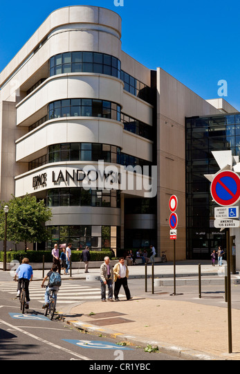 Landowski stock photos landowski stock images alamy for Espaces verts boulogne billancourt