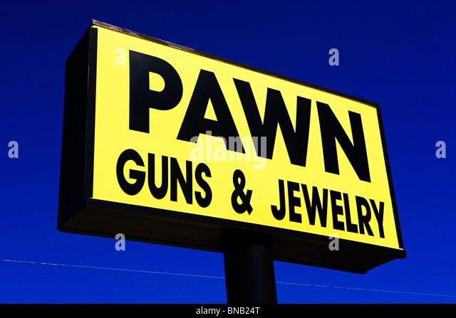 Pawn sign - Stock-Bilder