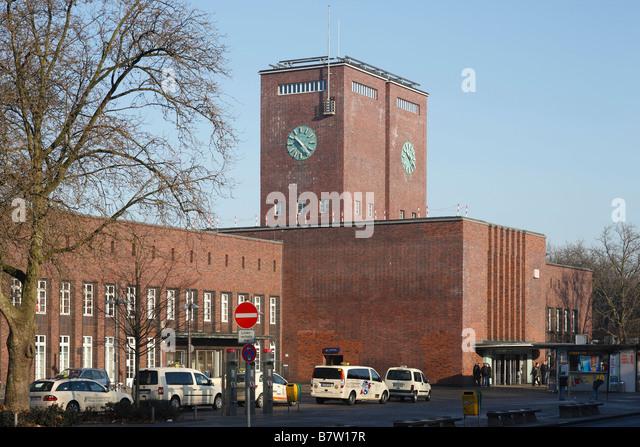 hauptbahnhof oberhausen stock photos hauptbahnhof
