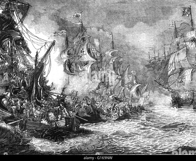 the battle of 1588 the spanish 1588 spanish armada attacked the english fleet who won the battle.