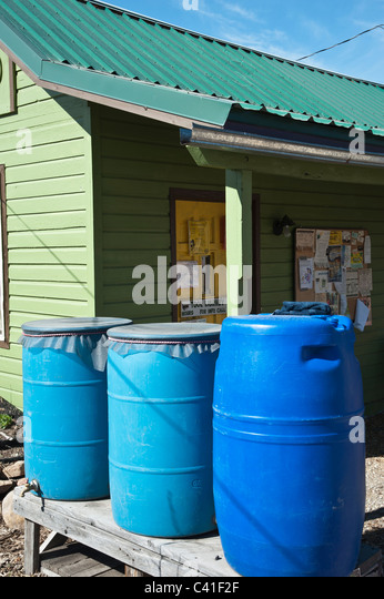 how to catch rain water for house