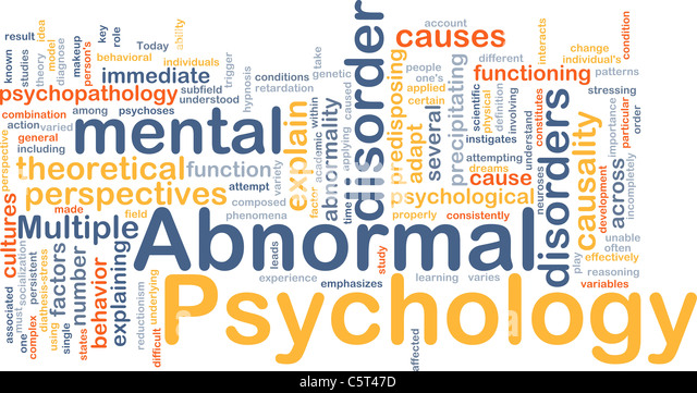 abnormal psychology the theory of psychopathology Some notes on the journal of abnormal psychology special issue on the   directions for psychopathological network theory and methodology.