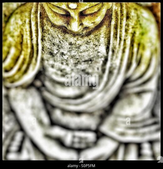 Buddha face - Stock Image