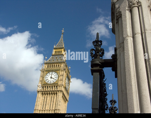 Big Ben London England - Stock Image