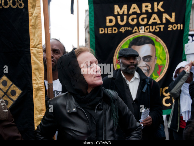 Mark Duggan was shot by police  in 2011. His death started the riot summer riots. The 14th Annual  Friends & - Stock Image