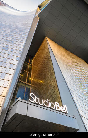 Studio Bell, home of the National Music Centre. Calgary Alberta Canada - Stock Image