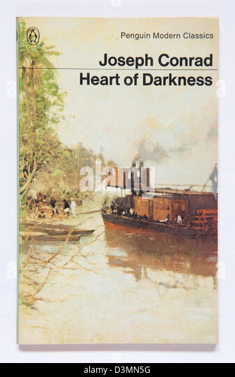 Heart Of Darkness by Joseph Conrad, first published in February 1899 - Stock-Bilder