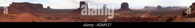 Monument Valley, Utah - Stock Image