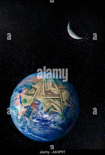 Money Earth - Stock Image