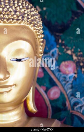 Buddha statue in Thailand - Stock Image