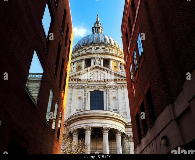 St. Paul's Cathedral. London, England, UK. - Stock-Bilder