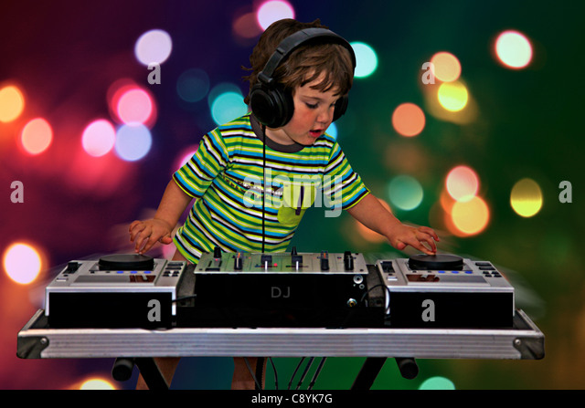 dj decks stock photos dj decks stock images alamy. Black Bedroom Furniture Sets. Home Design Ideas