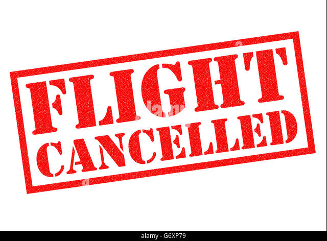 how to cancel a flight