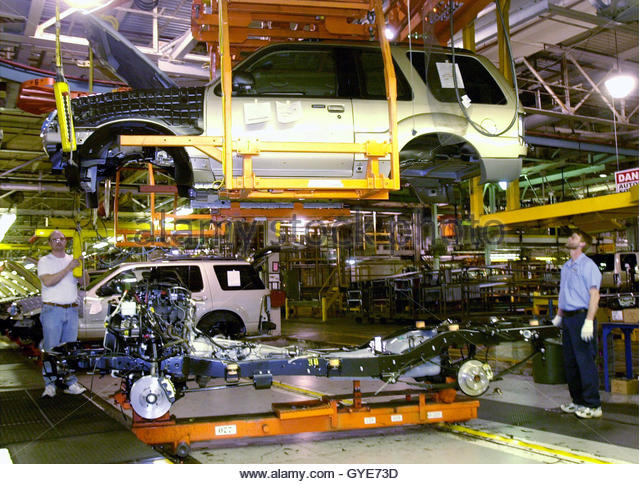 Ford Assembly Plant Stock Photos Ford Assembly Plant
