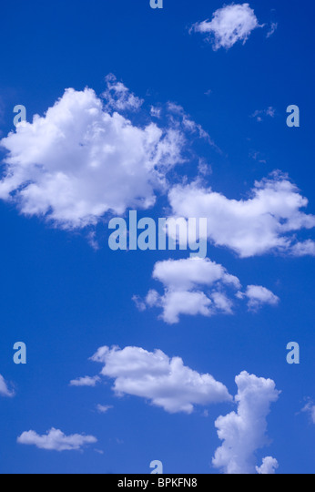 Clouds and Blue Sky - Stock-Bilder